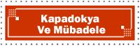 Kapadokya Ve Mübadele