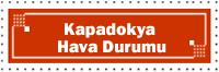 Kapadokya Hava Durumu