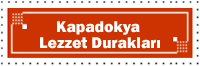 Kapadokya Lezzet Durakları